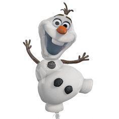 This is Olaf and he loves warm hugs! Get to give real warm hugs with this high Olaf Balloon, perfect to design your Frozen themed party. This is an officially licensed Disney product. Check out our other Disney Fro Disney Frozen Olaf, Disney Frozen Party, Frozen Birthday Party, 6th Birthday Parties, Birthday Ideas, Frozen Kids, Frozen Frozen, Frozen Balloons, Snowman