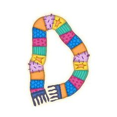 Letter D, Friendship Bracelets, Alphabet, How To Memorize Things, Jewelry, Winter, Clothing Apparel, Winter Time, Jewlery
