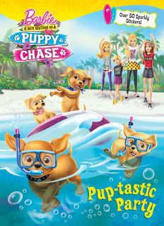 Barbie And Her Sisters In A Puppy Chase In 2020 Barbie And Her Sisters Coloring Books Barbie