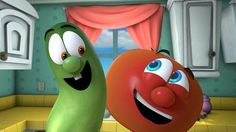 """Origins of 'VeggieTales' Success-In 1988, Phil Vischer was locked away in his tiny garage experimenting with the first widely available computer animation software.  The problem was, Vischer didn't have any extensive training and computer animation equipment was still so expensive that it wasn't readily accessible to the public. """"I finally realized the only way I was going to make a character was if it didn't have arms, legs, hair or clothes,"""" he said, laughing."""