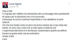 Luca Viganò chiede scusa a tutti