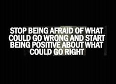 Stop being afraid of what could go wrong | Anonymous ART of Revolution