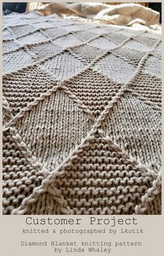 Crochet Patterns For Beginners, Knitting Patterns Free, Free Pattern, Knitting Blanket Patterns, Crochet For Beginners Blanket, Knitting Designs, Knitted Afghans, Knitted Blankets, Baby Blanket Crochet