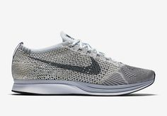 October 14, 2016 Nike Flyknit Racer Pure Platinum #Nike #Inside #Sneakers