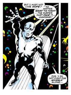If Marvel ain't on your wall, your wall is worthless. -Silver Surfer