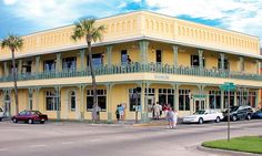 A1A Ale Works Restaurant and Brewery in the historic downtown district of St. Augustine, Florida.