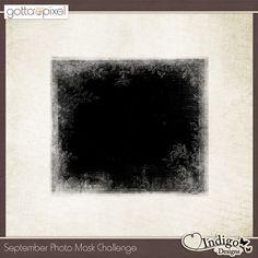 Photo Mask Challenge - September 2014. Earn Pixel Points at Gotta Pixel. www.gottapixel.net/