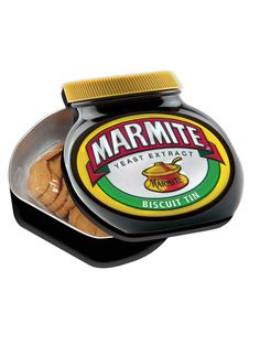 Gifts for him Marmite Gifts, Marmite Recipes, Yeast Extract, Food Gifts, Kids House, Gifts For Him, Biscuits, Tin, Kids Outfits