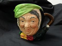Royal Doulton Toby Jug Sairey Gamp by CortezCoins on Etsy, $95.00