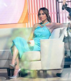 Jennifer Lopez wearing Emanuel Ungaro on The Today Show.  Styled by #RandM.