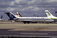 Olympic Airways Boeing (Mount Vermion - Όρος Βέρμιο) [SX-CBH] at Paris airport Boeing 727, Boeing Aircraft, Olympic Airlines, Airplane Photography, Aircraft Pictures, Jet Plane, Ways To Travel, Air Travel, Olympics