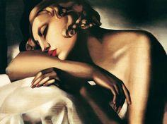 Tamara de Lempicka - La dormeuse (1930)