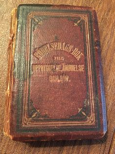 Antique Stockholm German Bible  Prayer Book 1881  Personal Records Daily Rare!