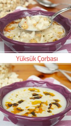 Ferrule Soup with Yogurt (Ravioli Soup) (with video) # Çorbatarif of faciles gourmet de cocina de postres faciles pasta saludables vegetarianas Beef Recipes, Soup Recipes, Healthy Dinner Recipes, Yummy Recipes, Beef Tagine, Ravioli Soup, Turkish Recipes, Ethnic Recipes, Turkish Sweets