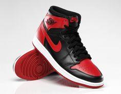 """Air Jordan 1 Retro High OG – """"Bred"""" Calçados De Bebe, Melhores Tênis, Compras, Modelos, Sapatos, Parede Celular, Papel, Air Jordan Retro, Nike Air"""