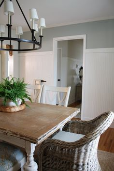 I thought about these chairs for my table ends, still like the look, but didn't use it!