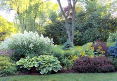 Every beautiful cottage garden has common principles that make them a success. Learn about the fundamentals you need to create your very own cottage garden. Low Maintenance Garden Design, Low Maintenance Landscaping, Shade Landscaping, Front Yard Landscaping, Outdoor Landscaping, Outdoor Gardens, Garden Shrubs, Shade Garden, Garden Paths