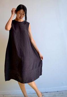 linen 'Cake Dress'