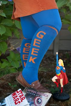 Today on the Sock Journal, Dreamer Zaf tells us a tale of personal growth and embracing your inner geek!
