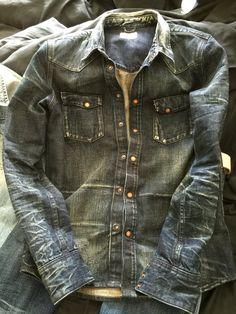 Nudie jeans shirt Gunnar