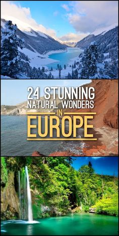 Looking for the best nature spots in Europe? Check out this list of 24 stunning natural wonders in Europe, which includes waterfalls, beaches and mountain ranges.