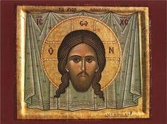 Orthodox icon of the Holy Face, Ieron Mandylion.
