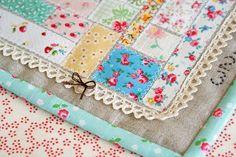 scrappy mini quilt 2