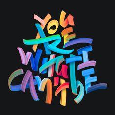 Midnight Studies by Pedro Veneziano. Creative Typography, Typography Quotes, Typography Letters, Typography Poster, Typo Design, Graphic Design Typography, Lettering Design, Hand Lettering, Inspiration Typographie