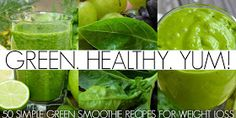 11 Of The Best Recipes for Simple Green Smoothies