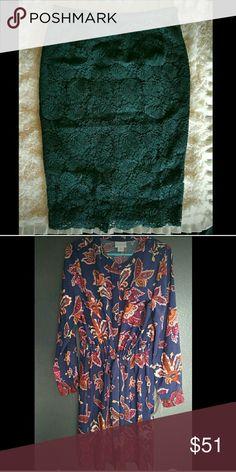 Bundle for @misslanier H & M Skirt and Liz Claiborne Dress Dresses