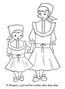Gallery For Africa Map Coloring Pages For Kids Africa Unit - Sweden map coloring page