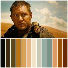 Movie Color Palette, Colour Pallete, Color Combos, Color Schemes, Color Palettes, Cinema Colours, Color In Film, Color Script, Cinematic Photography