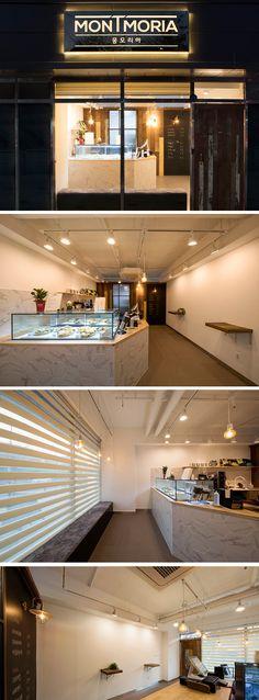 [No.255 몽모리아] 11평 영등포 신길동 마카롱 디저트 가게 인테리어, macaron store interior design