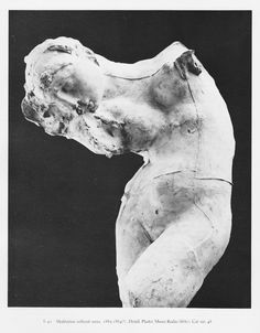 Auguste Rodin, Meditation without Arms, 1853