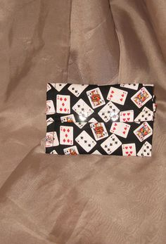 Playing Cards Wallet by SRoseCreations on Etsy, $17.00