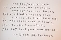 oh shakespeare, shakespeare. quotes