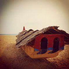 #boat #shore #kerala #india