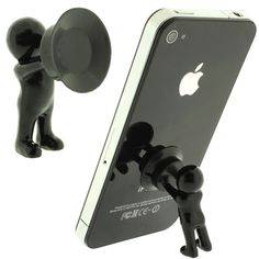 Stand Men Phone Stand. So cute it's ridiculous.