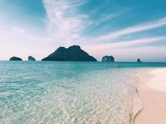 Here we are! #krabi #thailand #island #summer #sea #travel #travelgram #travelalone #aroundtheworld #backpack #backpackers #landscape… Krabi Thailand, Thailand Travel, Travel Alone, Backpack, Around The Worlds, Sea, Island, Landscape, Water