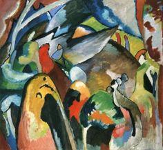 Improvisation 19A - Wassily Kandinsky - The Athenaeum