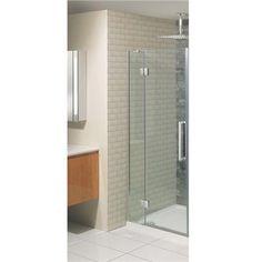 Simpsons - Ten Hinged Shower Door with Inline Panel -  1400mm Option