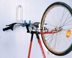 AKI+Bricolaje,+jardinería+y+decoración.+ Gancho+mural+bicicleta+para+manillar