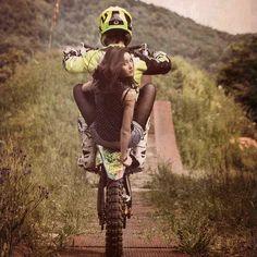 Mercenary: Dirt Bike Girl #DirtBikeGirl #Mercenary #MercenaryGarage