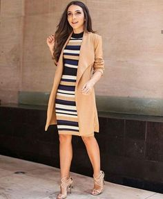 23 Stunning Fall Dresses Outfit Ideas For Beautiful Women Fashion Place Summer Work Outfits, Casual Work Outfits, Business Casual Outfits, Professional Outfits, Mode Outfits, Office Outfits, Stylish Outfits, Dress Outfits, Fashion Outfits