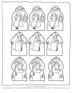 Free printable christmas tags in black and white color ink free printable christmas tags snowman to color echos xmas gifttags this collection is great negle Choice Image