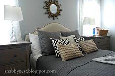 IKEA Hemnes dressers as nightstands! Brilliant!