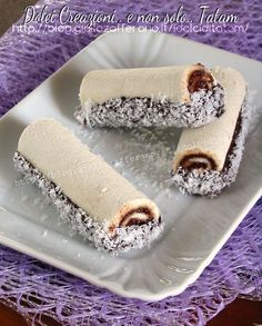 Rolls Coconut and Nutella