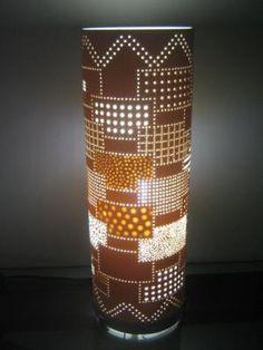 luminaria em pvc luminaria tubos de pvc reciclavel,de 100 e 150mm artesanato manual,luminarias em pvc