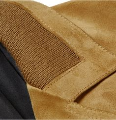Saint Laurent - Suede Jacket (Collar)