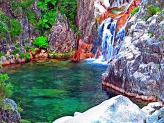 Fotos Impressionantes e Curiosas: Cascata da Portela do Homem [Parque Nacional da Pe...